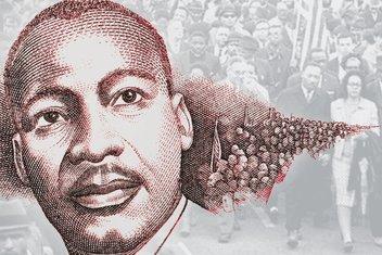 Siyahilerin sivil haklara kavuşmalarında mihenk taşı: Martin Luther King