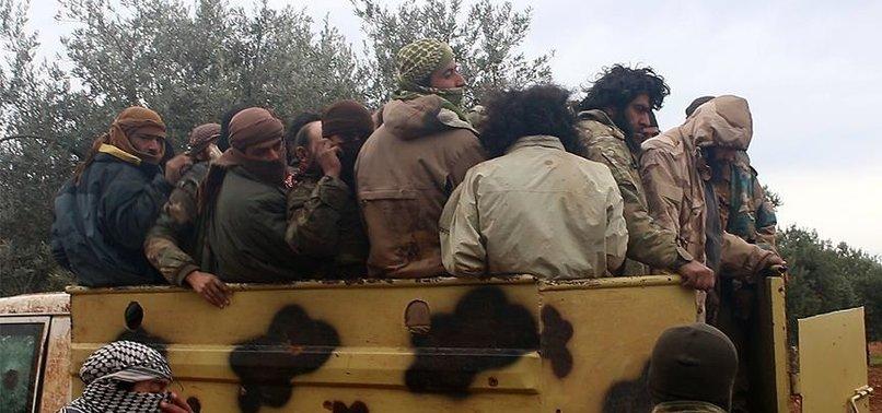 SYRIA OPPOSITION CAPTURES 400 DAESH TERRORISTS IN IDLIB