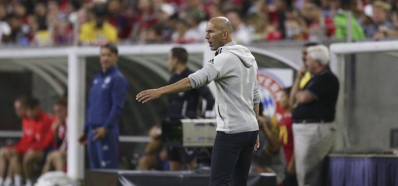 ZINEDINE ZIDANE SAYS MADRID HAS FOUND NEW CLUB FOR GARETH BALE