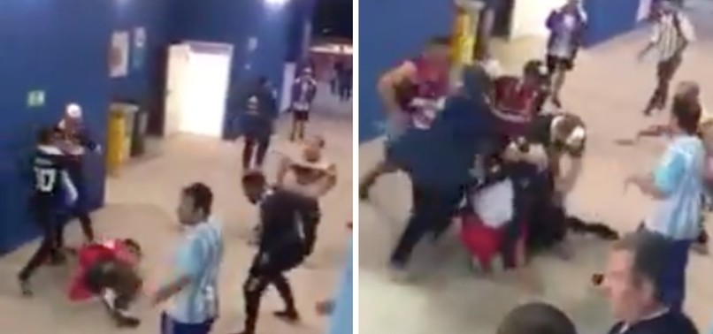 7 ARGENTINA FANS FILMED FIGHTING AT WORLD CUP DETAINED BY RUSSIAN POLICE