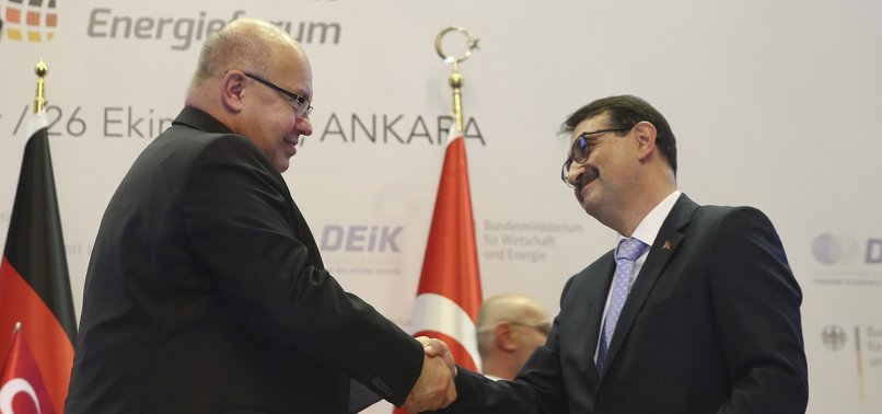 TURKEY, GERMANY AGREE TO DEVELOP ENERGY PROJECTS