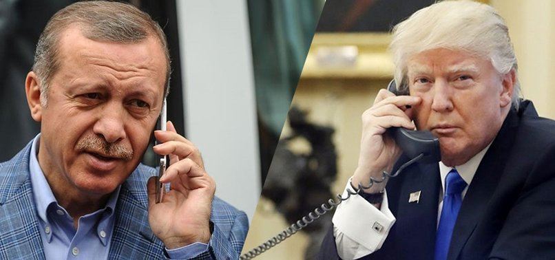 ERDOĞAN TO DISCUSS OPERATION OLIVE BRANCH WITH TRUMP