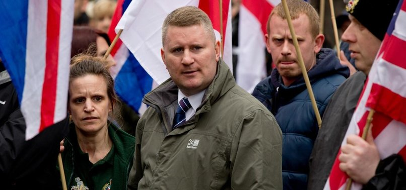 UK FAR-RIGHT GROUP LEADER CHARGED WITH TERROR OFFENCE