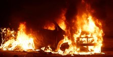 Cars torched during riot at Malta migrant center