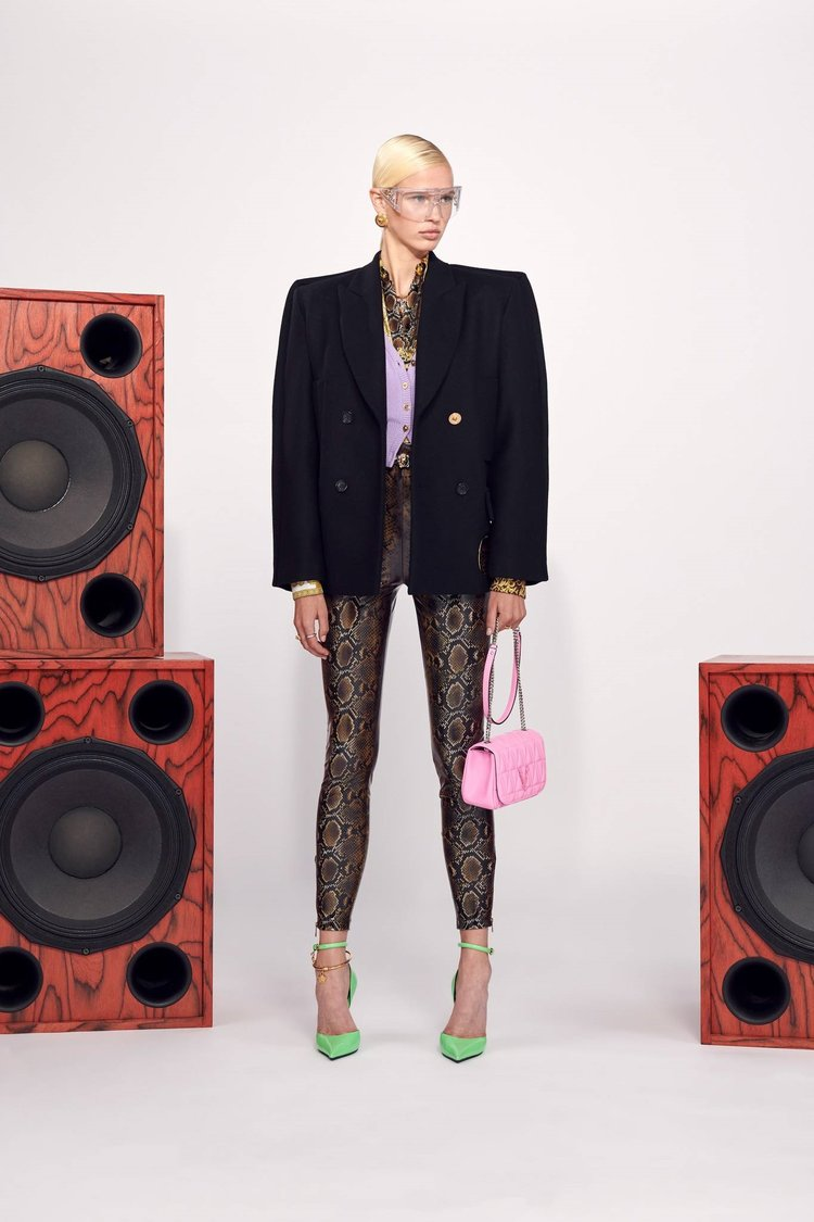 Versace Resort koleksiyonu: Flash 2021