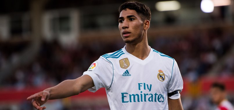 DORTMUND SIGN MOROCCO FULL-BACK HAKIMI ON LOAN FROM REAL MADRID