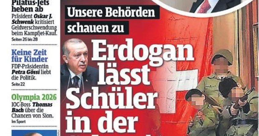 İsviçre gazetesi Blick kin kustu