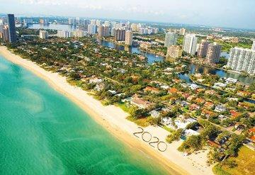 Yeni yıla sıcak bir karşılama Miami