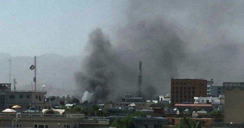 Kabil'de elçilikler bölgesinde bombalı saldırı meydana geldi