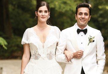 Genç çift için görkemli düğün