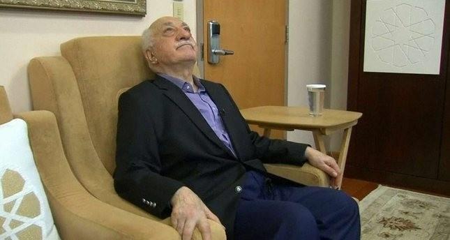 Leader of the Gülenist terror cult, Fetullah Gülen in his Pennsylvania residence