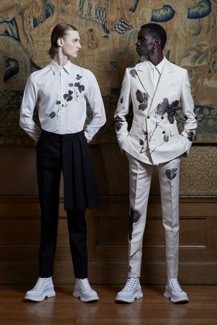 Alexander McQueen İlkbahar/Yaz 2020 Erkek Koleksiyonu