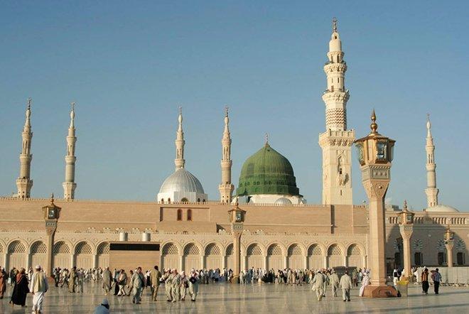 Mescid-i Nebevi / Medine, Suudi Arabistan