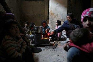 Sığınaklarda mahsur Doğu Gutalılar günlerdir aç