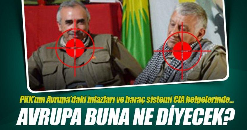 PKKnın Avrupadaki haraç yapılanması CIA belgelerinde