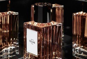 Celine'in ilk parfüm koleksiyonu