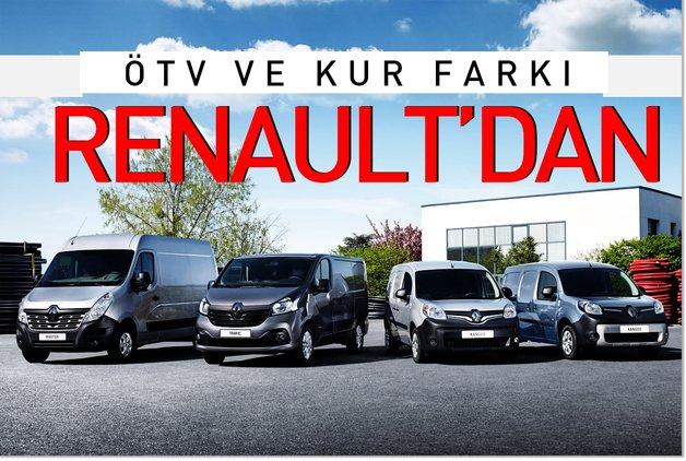 ÖTV ve kur farkı Renault'dan