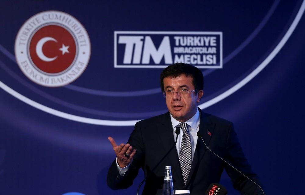 Economy Minister Nihat Zeybekci