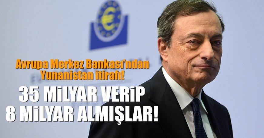 Yunanistan'a 35 verip 8 milyar euro kazandılar