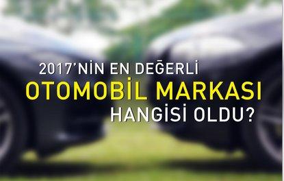 2017nin en değerli otomobil markası hangisi oldu?