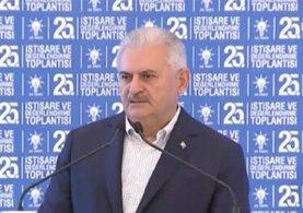 Başbakan Yıldırım 25. İstişare ve Değerlendirme Toplantısı'nda konuşuyor