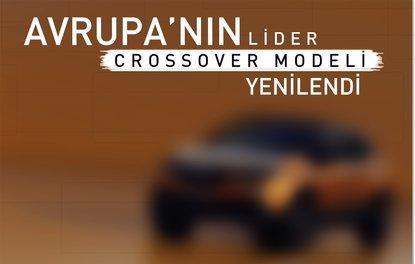 Avrupa'nın lider crossover modeli yenilendi