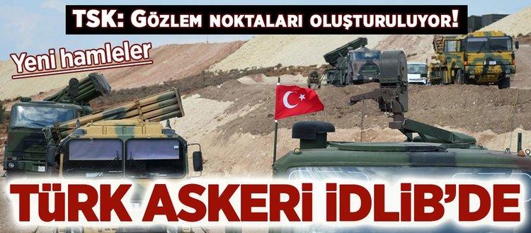 TSKdan flaş İdlib açıklaması