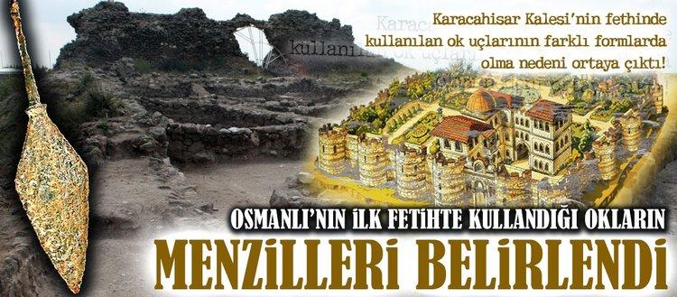 Osmanlı'nın ilk fetihte kullandığı okların menzilleri belirlendi!