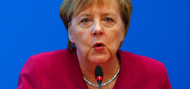 MERKEL READY TO GIVE UP CDU LEADERSHIP AFTER SLUMP IN POLLS