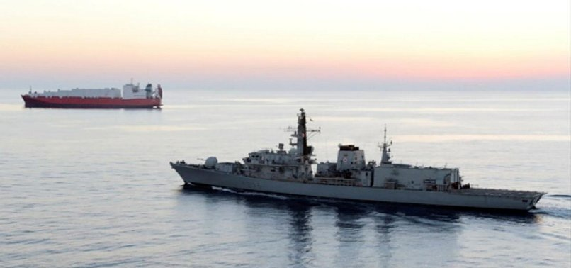 UK DEPLOYING SECOND WARSHIP IN PERSIAN GULF