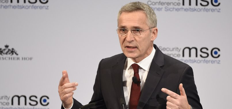 NATO CHIEF WARNS AGAINST EU DEFENSE AMBITIONS