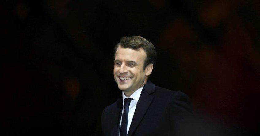 Fransa tarihinin en genç cumhurbaşkanı Emmanuel Macron seçildi