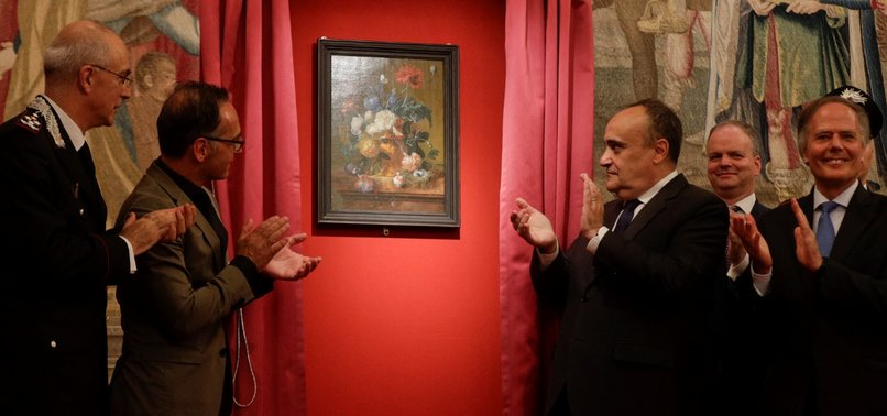 GERMANY RETURNS PAINTING STOLEN BY NAZIS DURING WWII TO FLORENCE