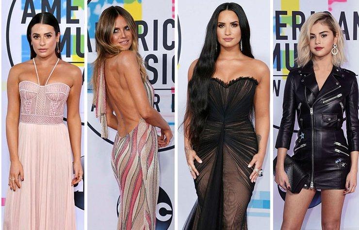 Los Angeles'ta Amerikan Müzik Ödülleri sahiplerini buldu. Törende resmen defile havası esti! Ünlü isimler seçtikleri göz alıcı kıyafetler ile dikkatleri üzerine çekti...