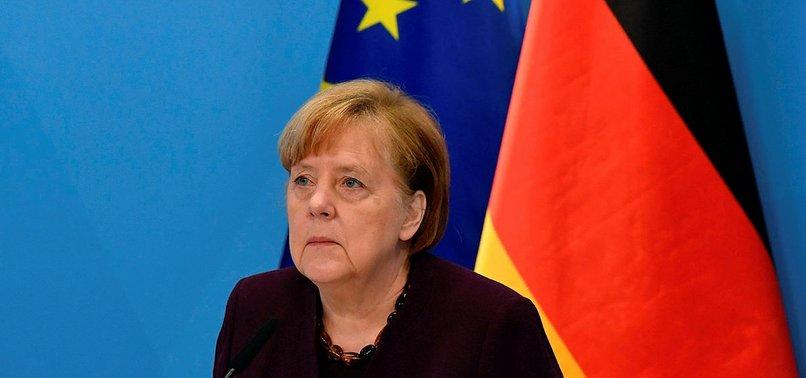 MERKEL SAYS GERMANY IN THIRD WAVE OF PANDEMIC