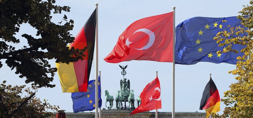 TURKEY WELCOMES GERMANY'S ACTIONS AGAINST PKK