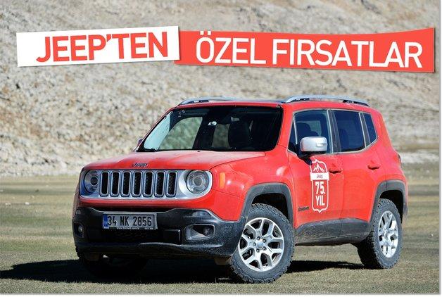 Jeep'ten Özel Fırsatlar