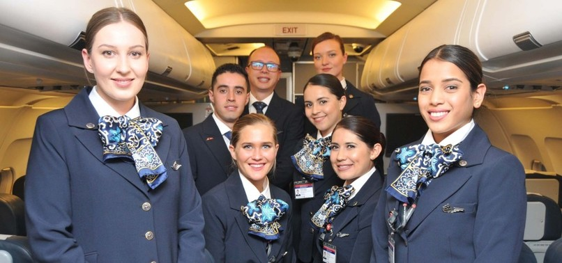 FOREIGN FLIGHT ATTENDANTS OF TURKISH AIRLINES COUNT DOWN DAYS TO FIRST FLIGHTS