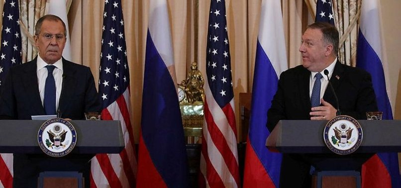 POMPEO WARNS RUSSIAN FM AGAINST ELECTION INTERFERENCE