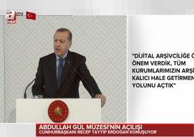 Cumhurbaşkanı Erdoğan Kayseri'de konuşu