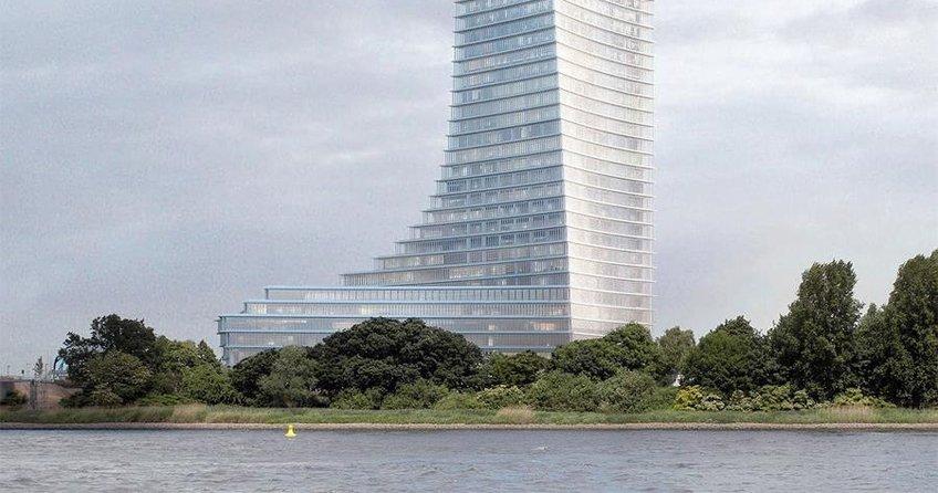 Hamburg'a yeni gökdelen izni çıktı