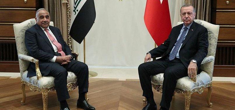 ERDOĞAN RECEIVES IRAQI PRIME MINISTER IN ANKARA