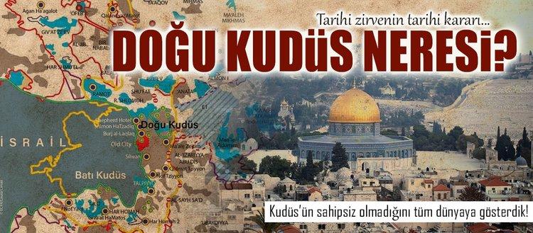 Doğu Kudüs neresi?