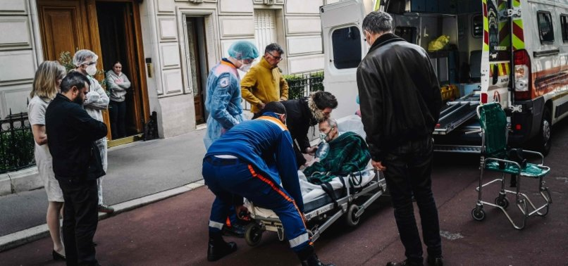 FRANCE REPORTS 135 MORE DEATHS FROM COVID-19, TAKING TOLL TO 24,895