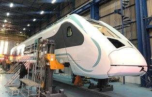 Turkey's locally-made electric train to serve by end of 2020