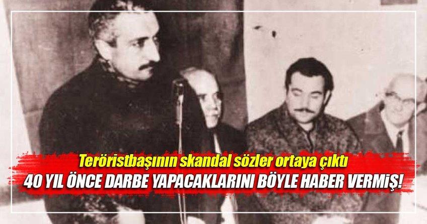 FETÖ elebaşı Gülen 40 yıl önce darbeyi haber vermiş