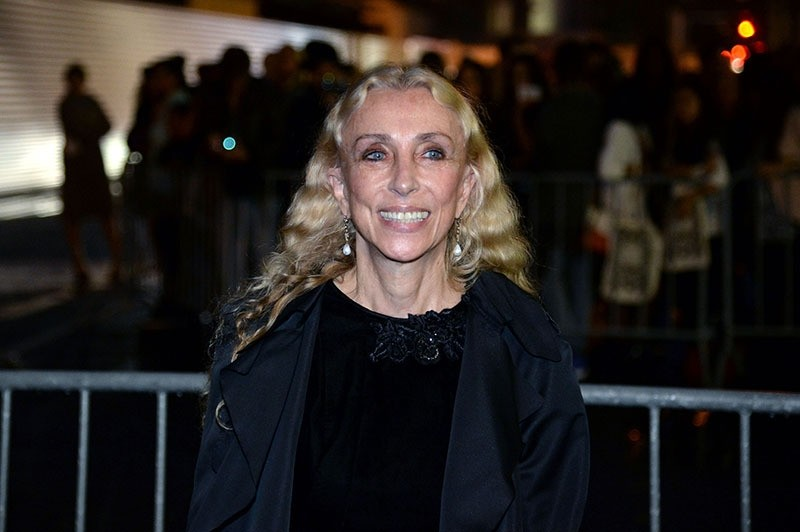 This file photo taken on September 29, 2013 shows editor-in-chief of Vogue Italy, Franca Sozzani posing prior to the Givenchy 2014 Spring/Summer ready-to-wear collection fashion show, in Paris. (AFP Photo)