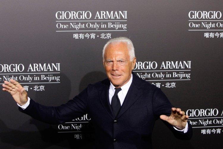 Giorgio Armani'den anlamlı bağış!