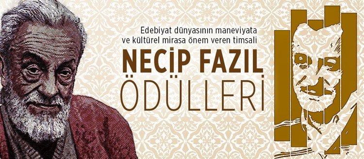 Edebiyat dünyasının maneviyata ve kültürel mirasa önem veren timsali Necip Fazıl Ödülleri