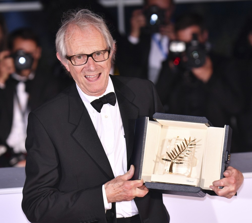 Ken Loach, 79, received Palme du2019Or for best picture for his film u201cI, Daniel Blake,u201d about a carpenter and a single mother battling the bureaucracy of Britainu2019s health service.